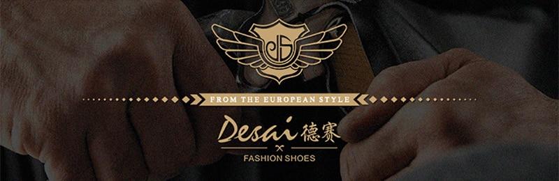 DESAI Oxford Mens Dress Shoes Formal Business Lace-up Full Grain Leather Minimalist Shoes for Men