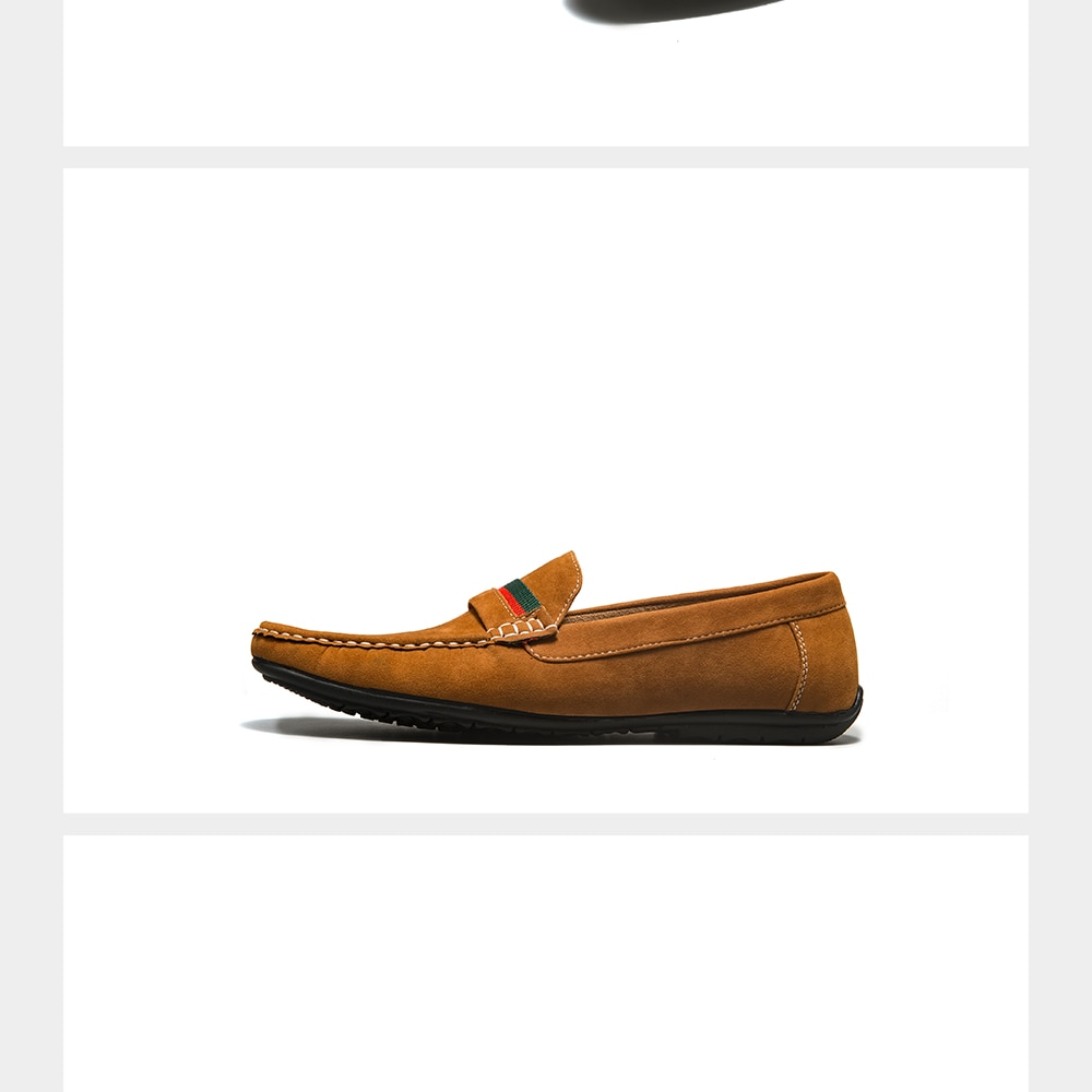 Decarsdz Suede Loafers