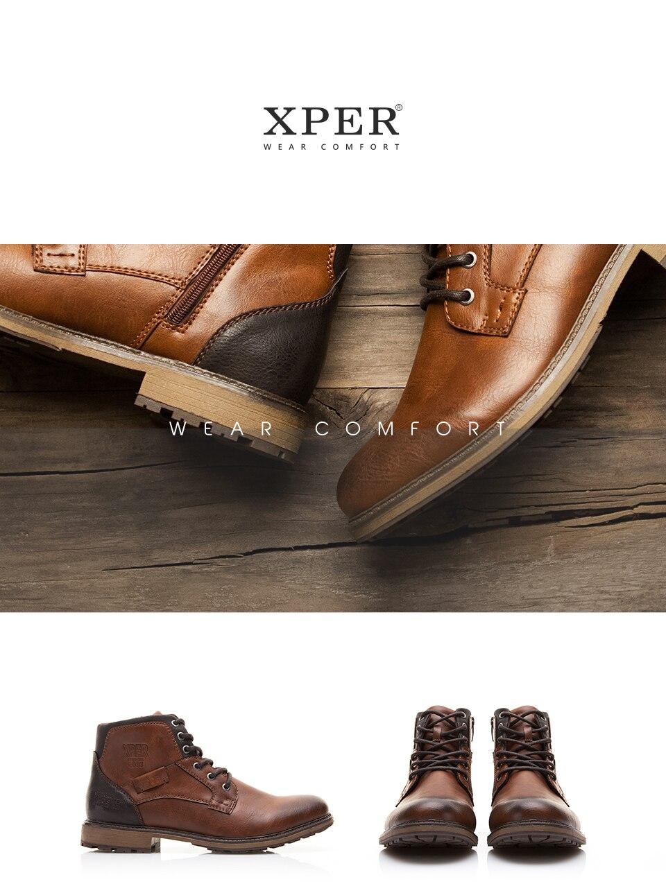 XPER Autumn Winter Boots