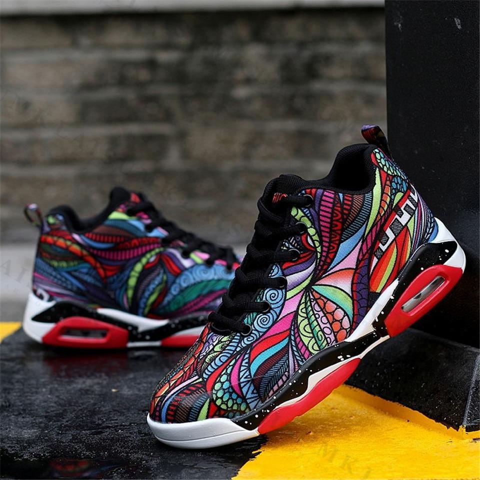 Laisumk Graffiti Sneakers